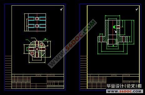 tl6弹性套联轴器液压夹具设计